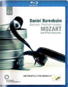 Daniel Barenboim spielt Mozart - Klavierkonzerte 20-27 [Blu-ray]