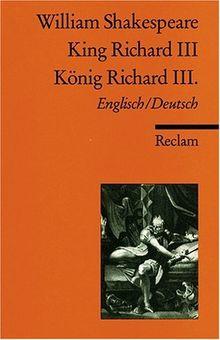 King Richard III / König Richard III. [Zweisprachig]