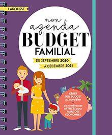 Mon agenda Budget Familial: De septembre 2020 à décembre 2021 (Calendrier - Famille (31263))