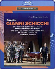 Puccini: Gianni Schicchi [Teatro del Maggio Musicale Fiorentino, November 2019] [Blu-ray]