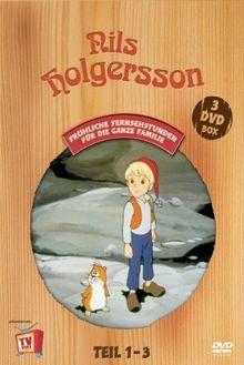 Die Wunderbare Reise des kleinen Nils Holgersson mit den Wildgänsen, Teil 01 - 03 [3 DVDs]