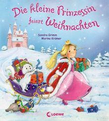 Die kleine Prinzessin feiert Weihnachten