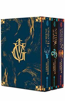 Die Grisha-Trilogie: Alle 3 Bände im Schuber: Goldene Flammen - / Eisige Wellen / Lodernde Schwingen (Legenden der Grisha)