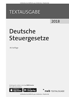 Deutsche Steuergesetze (Textausgabe)