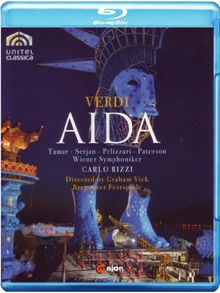 Giuseppe Verdi - Aida (Bregenzer Festspiele, Wiener Symphoniker)) [Blu-ray]