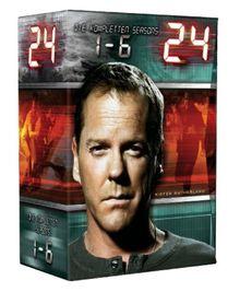 24 - Die kompletten Seasons 1-6 [Limited Edition] [41 DVDs]