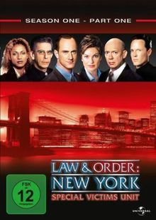 Law & Order: New York - Special Victims, Season One, Part One [3 DVDs]
