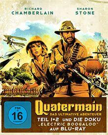 Quatermain - Das ultimative Abenteuer [Blu-ray]