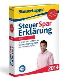 Steuer-Spar-Erklärung 2014 Plus (für Steuerjahr 2013)