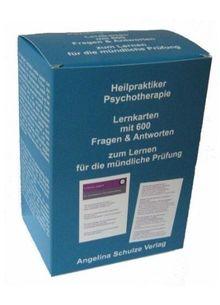 Heilpraktiker Psychotherapie. Lernkarten mit 600 Fragen & Antworten: zum Lernen für die mündliche Prüfung
