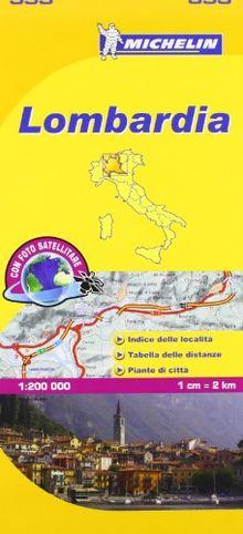 Lombardia (Mapas Local Michelin)