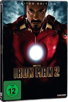 Iron Man 2 (Steelbook) [Limited Edition] [2 DVDs]