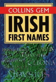 Irish First Names (Collins Gems)