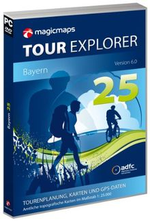 Tour Explorer 25 Bayern, Version 6.0