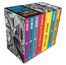 Harry Potter Boxed Set: The Complete Collection Adult Paperback: Contains: Philosopher's Stone / Chamber of Secrets / Prisoner of Azkaban / Goblet of ... Phoenix / Half-Blood Prince / Deathly Hollows