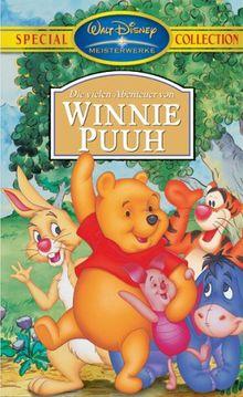 Die vielen Abenteuer von Winnie Puuh [VHS]