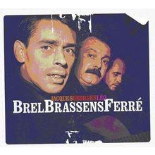 Brel,Jacques-Brassens,Georges-Ferre,Leo