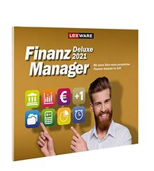 Lexware FinanzManager Deluxe 2021 frustfreier Verpackung Einfache Buchhaltungs-Software für private Finanzen und Wertpapier-Handel