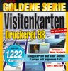 Goldene Serie. Visitenkarten- Druckerei. CD- ROM für Windows 95