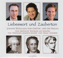 Liebeswort und Zauberton: Goethe und die Frauen. Eine erotische Biografie umrahmt von Serenaden. Mozart und Schumann. Violine: Gregor Dierck. Klavier: Michael Balke