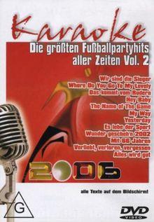 Karaoke - Die größten Fußballpartyhits...Vol. 2
