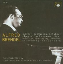Alfred Brendel: The Complete Vox,Turnabout & Vanguard Solo Recordings