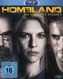 Homeland Season 3 [Blu-ray]