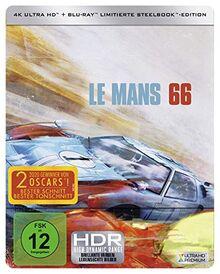 Le Mans 66 - Gegen jede Chance (4K UHD Steelbook + 2D Blu-ray) [Blu-ray] [Limited Edition]