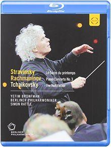 Stravinsky/Rachmaninov/Tchaikovsky [Blu-ray]