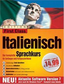 First Class Sprachkurs Italienisch 7.0 (DVD-Pack)