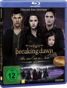 Breaking Dawn - Bis(s) zum Ende der Nacht - Teil 2 (Fan Edition) [Blu-ray] [Deluxe Edition]