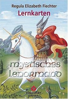 Mystisches Lenormand Lernkarten: 36 Karten + 11 Anleitungskarten