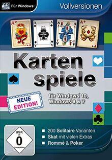 Kartenspiele für Windows 10 - Neue Edition (PC)