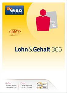 WISO Lohn und Gehalt 365 Software
