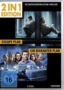 Escape Plan / Ein riskanter Plan (2 in 1 Edition, 2 Discs)