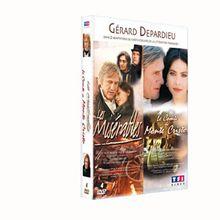 Coffret depardieu fiction TV : les misérables ; le comte de monte cristo [FR Import]