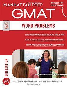 Word Problems GMAT Strategy Guide, 6th Edition (Instructional Guide)