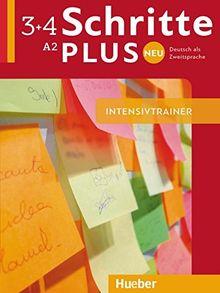 Schritte plus Neu 3+4: Deutsch als Zweitsprache / Intensivtrainer mit Audio-CD