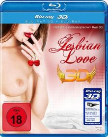 Lesbian Love 3D (3D Version inkl. 2D Version & 3D Lenticular Card) [3D Blu-ray]