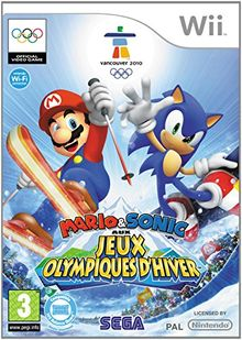 Third Party - Mario & Sonic aux Jeux Olympiques d'hiver Occasion [ WII ] - 5055277000852