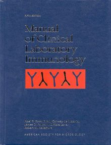 Manual of Clinical Laboratory Immunology