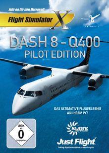 Flight Simulator X - Dash 8 Q400 Pilot - Edition (Add - On) - [PC]