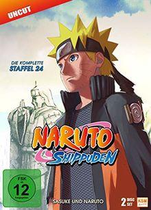 Naruto Shippuden - Staffel 24: Sasuke und Naruto (Folgen 690-699) [2 DVDs]