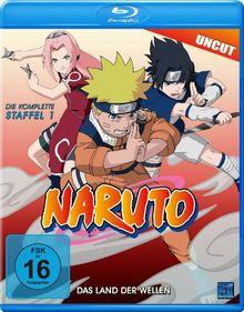 Naruto - Das Land der Wellen - Die komplette Staffel 1 (Folge 01-19 - Uncut) [Blu-ray]