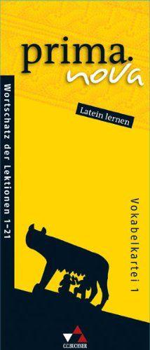 prima.nova Latein lernen - Vokabelkartei 1: Gesamtkurs Latein. Lektionen 1-21