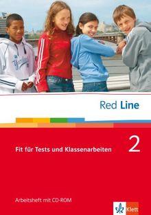 Red Line. Unterrichtswerk für Realschulen: Red Line Bd 2. Klasse 6. Fit für Tests und Klassenarbeiten