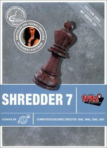 PC Schachprogramm Shredder 7