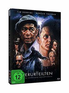 Die Verurteilten - Mediabook zum 25-jährigen Jubiläum (+ DVD) - Limitiert auf 1000 Stück, Cover B [Blu-ray]