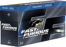 Coffret fast and furious 1 à 7 [Blu-ray] [FR Import]