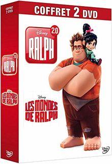 Coffret ralph 2 films : les mondes de ralph ; ralph 2.0